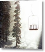 Chairway To Heaven Metal Print by Kevin Munro