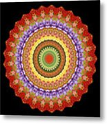 Chakra Spin Metal Print by Barbie Wagner