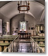 Chapel In Wales Metal Print by Adrian Evans