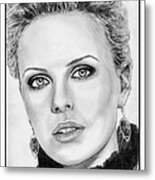 Charlize Theron In 2008 Metal Print by J McCombie