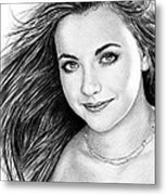 Charlotte Church Metal Print by Andrew Read