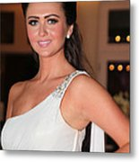 Charlotte Dawson 4 Metal Print by Jez C Self
