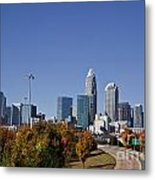 Charlotte North Carolina Metal Print by Jill Lang