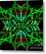 Charlotte's New Freakin' Awesome Neon Web Metal Print by Elizabeth McTaggart