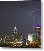 Charlotte's Storm Metal Print by Brian Young
