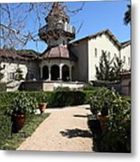 Chateau St. Jean Winery 5d22201 Metal Print by Wingsdomain Art and Photography