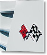 Checkers Metal Print by Bill Gallagher