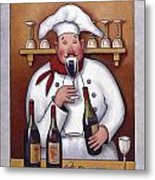 Chef 1 Metal Print by John Zaccheo