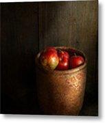Chef - Fruit - Apples Metal Print by Mike Savad