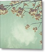 Cherry Blossom In Fulwood Park Metal Print by Georgia Fowler