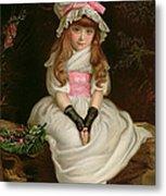 Cherry Ripe Metal Print by Sir John Everett Millais