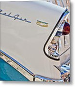 Chevrolet Bel-air Taillight Metal Print by Jill Reger