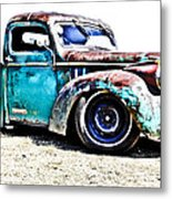 Chevrolet Pickup Metal Print by Phil 'motography' Clark