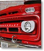 Chevy Beaumont Fire Museum Tx Metal Print by Christine Till