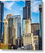Chicago High Resolution Picture Metal Print by Paul Velgos