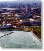 Chicago Museum Park Metal Print by Thomas Woolworth