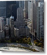 Chicago The Drake Metal Print by Thomas Woolworth