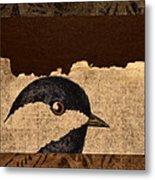 Chickadee Metal Print by Carol Leigh