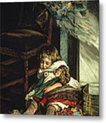 Children Dreaming Of Toys Metal Print by Lizzie Mack