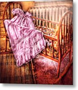 Children - It's A Girl Metal Print by Mike Savad