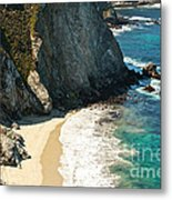 China Cove At Point Lobos State Beach Metal Print by Artist and Photographer Laura Wrede
