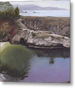 China Cove Metal Print by Terry Guyer