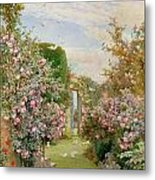 China Roses Metal Print by Alfred Parsons