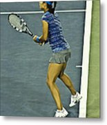 China Tennis Star Li Na Metal Print by Rexford L Powell