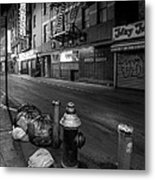 Chinatown New York City - Joe's Ginger On Pell Street Metal Print by Gary Heller