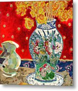 Chinoiserie Metal Print by Diane Fine