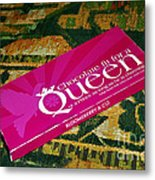 Chocolate Fit For A Queen Metal Print by Kaye Menner