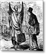 Cholera In Slums, 1866 Metal Print by Granger