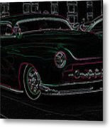 Chopped Merc Glow Metal Print by Steve McKinzie
