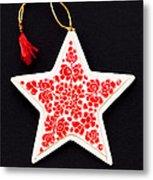 Christmas Star Metal Print by Anne Gilbert