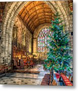 Christmas Tree Metal Print by Adrian Evans