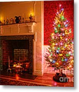 Christmas Tree Metal Print by Olivier Le Queinec