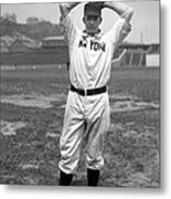 Christy Mathewson Wind Up Metal Print by Retro Images Archive