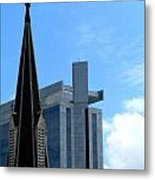 Church And State Metal Print by Randall Weidner