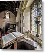 Church Chronicles Metal Print by Adrian Evans