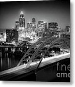 Cincinnati A New Perspective Metal Print by Kimberly Nickoson