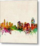 Cincinnati Ohio Skyline Metal Print by Michael Tompsett