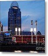 Cincinnati Skyline Metal Print by Deborah Fay