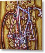 Cinelli Laser Bicycle Metal Print by Mark Howard Jones