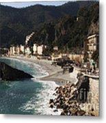 Cinque Terre Metal Print by Leslie Leda