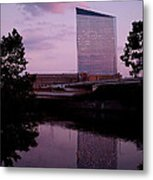 Cira Centre Metal Print by Rona Black
