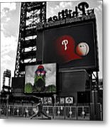 Citizens Bank Park Philadelphia Metal Print by Bill Cannon