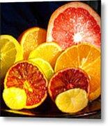 Citrus Season Metal Print by Anastasia Savage Ealy