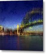 City-art Sydney Metal Print by Melanie Viola