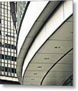 City Buildings Metal Print by Tom Gowanlock