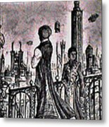 City Of Babel  Metal Print by George Harrison